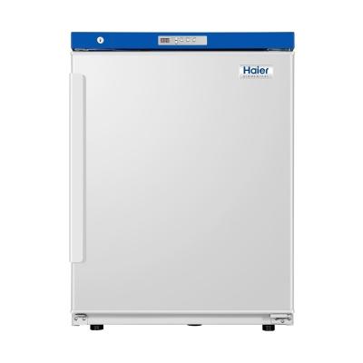 Refrigerador Farmacéutico Bajo Mesada Haier, capacidad 118L, rango de temperatura 2 a 8 C