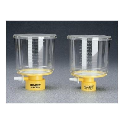 Filtro tipo tapa de botella Nalgene, Serie MF75 membrana de acetato de celulosa SFCA - 12 unidades