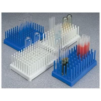 Portatubos con parantes para tubos de ensayos Nalgene, polipropileno relleno