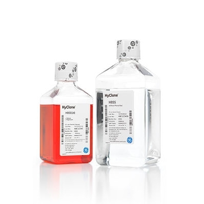 Hank's Balanced Salt Solution (HBSS), 1X, with Phenol Red  Process Liquids, Buffers, and Salts-(Liquid)