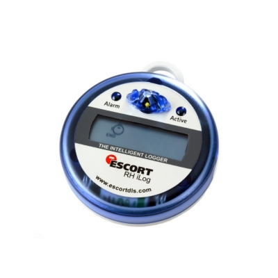 Registrador de temperatura Escort, con pantalla LCD, un sensor interno, iLog