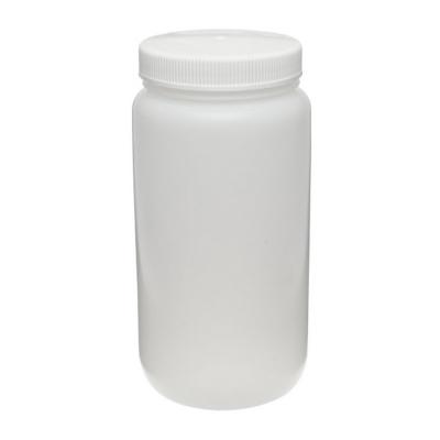 Botella fluorada grande de boca ancha Nalgene, 2 litros - 1 unidad
