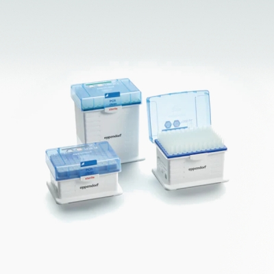Tips con filtro Eppendorf, Dualfilter, Forensic DNA Grade, estéril - 10 racks de 96 puntas