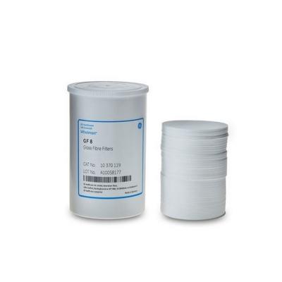 Filtros de Microfibra de Vidrio Grado GF 8 para Partículas Gruesas Whatman, con ligante