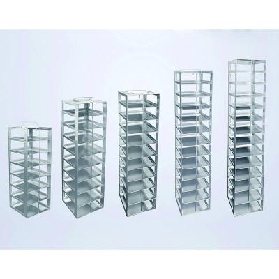 Rack para Freezer Vertical Biologix, aluminio, configuración 1 x 7