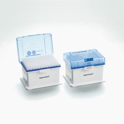 Tips con filtro Eppendorf, Dualfilter, SealMax, PCR clean, estéril - Racks de 96 puntas