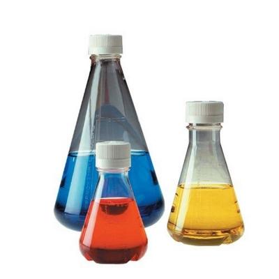 Erlenmeyer estéril Nalgene, con base plana, copoliéster de tereftalato de polietileno PETG
