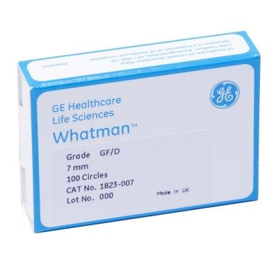 Filtro de Fibra de Vidrio Grado GF/D Whatman