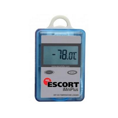 Registrador de Temperatura Escort, un sensor externo, rango: -100 a 40 C, reutilizable, iMiniPlus Dry Ice