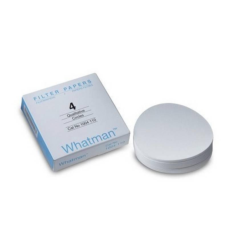Papel de Filtro Cualitativo Grado 4 Whatman GE