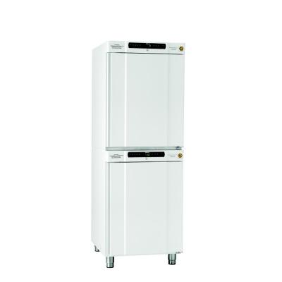 Refrigerador y Freezer antiexplosivos Gram, Serie BioCompact II: RR 210, 2 a 15°C, 125 L, Blanco + RF 210, -25 a -5 C, 104 L, Blanco *COMBI*