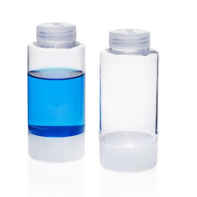 Botella de centrifugación Nalgene, de fondo esférico, policarbonato PC, 250 ml - 1 unidad