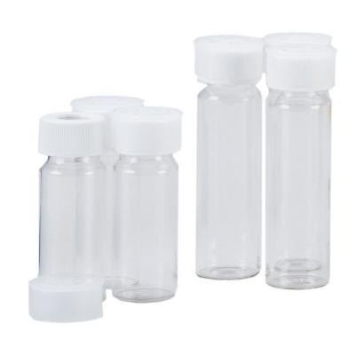 Viales para muestreo de agua para análisis de TOC y otros ensayos, no certificados, pack x 72u